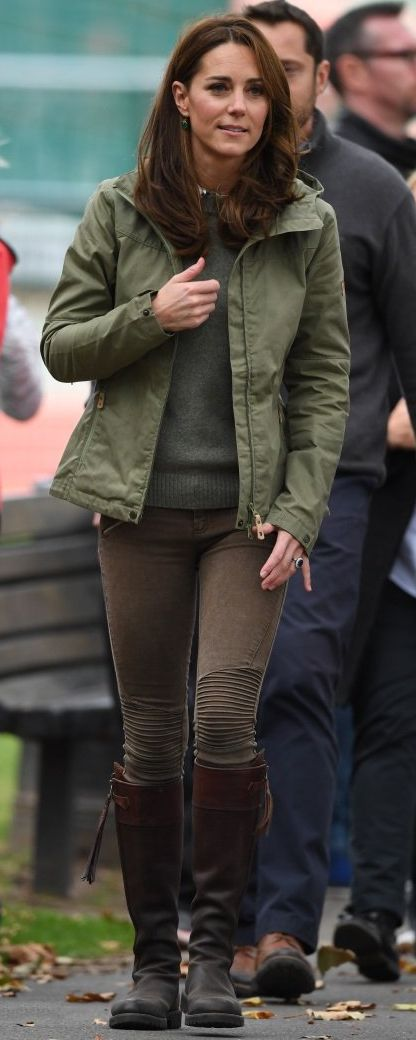 2 Oct 2018 - Duchess of Cambridge visits the Sayers Croft Forest School and Wildlife Garden at Paddington Recreation Ground