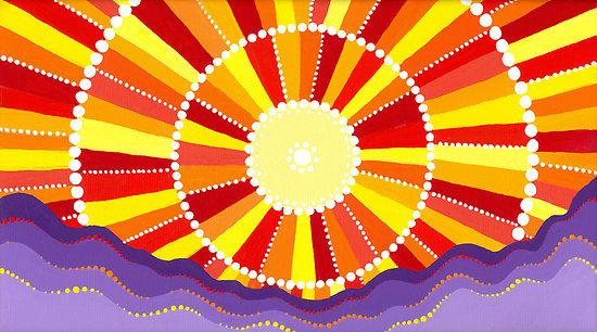 Image result for vibrant sun