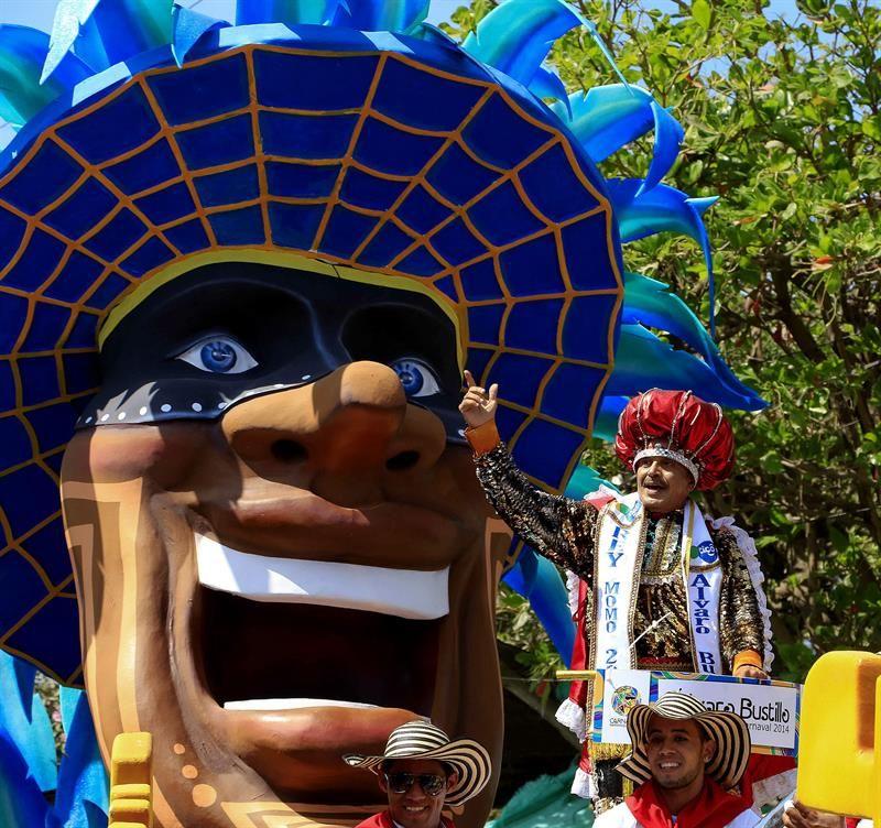 El Rey Momo Desfila En El Carnaval De Barranquilla Foto Efe Fotos Barranquilla Carnaval