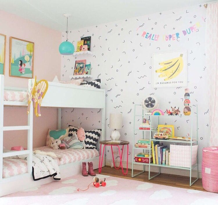Coolest Kiddo Room Simple Kids Rooms Shared Girls Room Shared