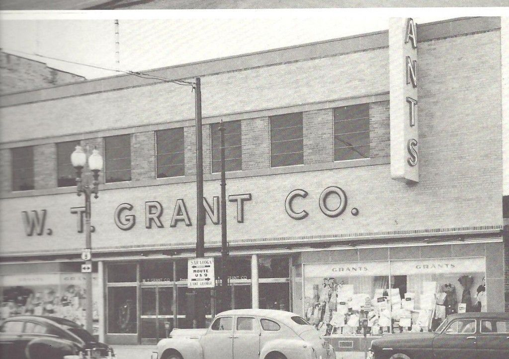 W. T. Grant Store, Glens Falls, NY. Loved The Bird And Fish Departments.