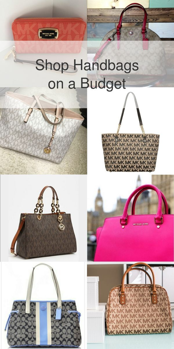 9e92575cead Shop your dream handbag from top name brands like Coach, Michael Kors and  Vera Bradley