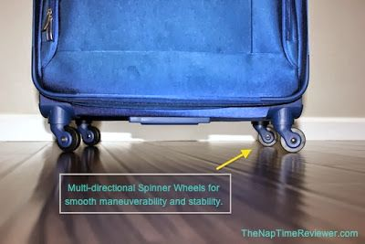 The NapTime Reviewer: The Best Lightweight Luggage + My Packing Tips #Superlite Spinners