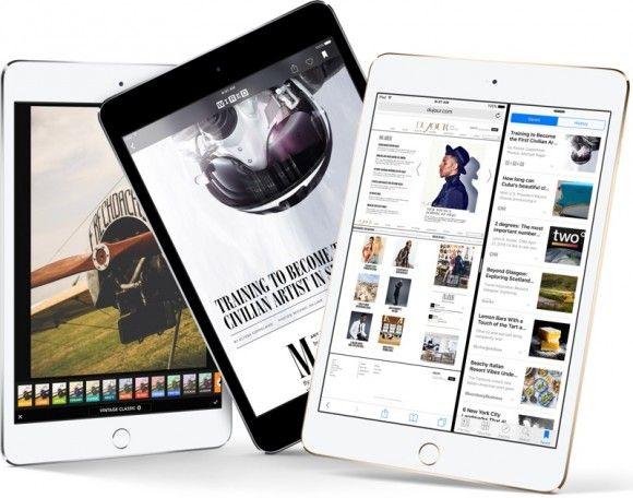 Apple убила iPad mini 2 и удвоила память в iPad mini 4 -   goo