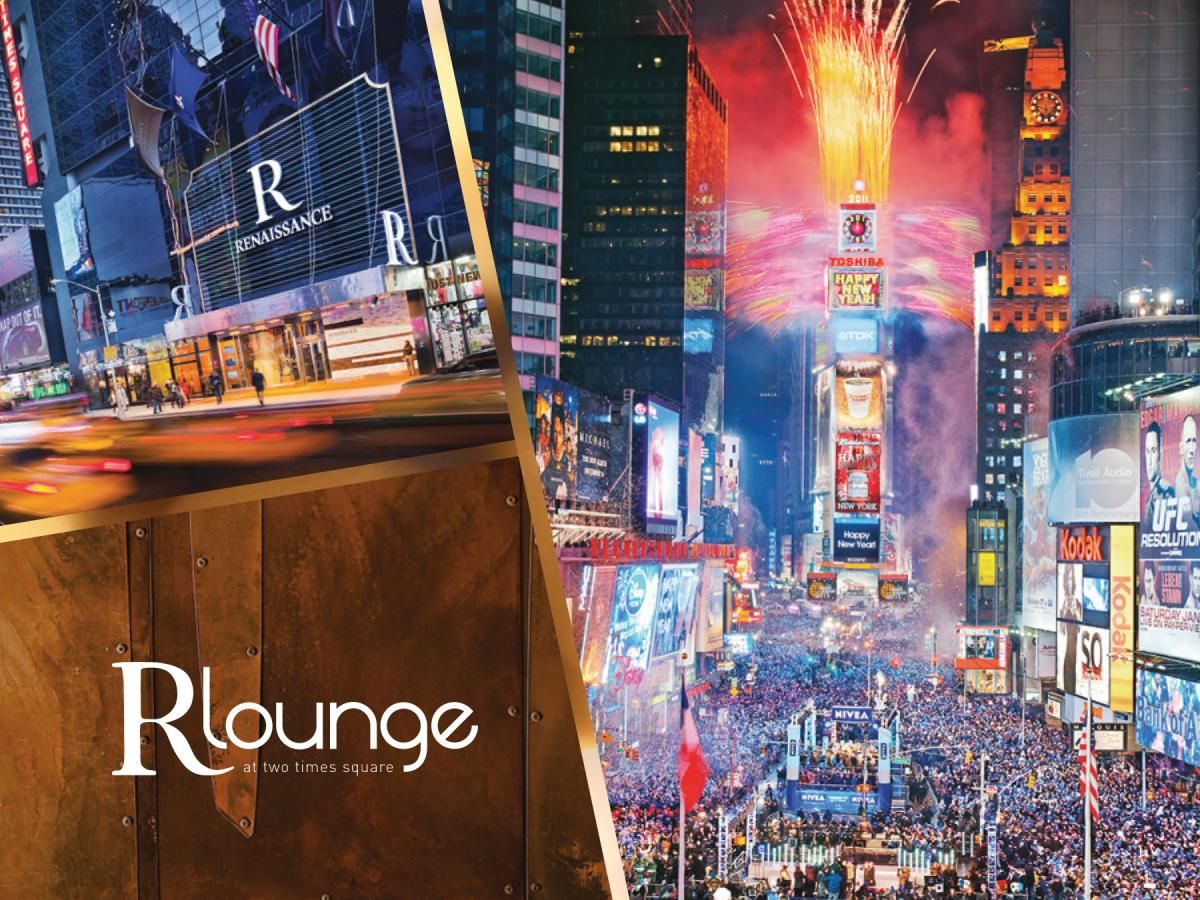 Times Square Restaurants View Of Nyc R Lounge At Two