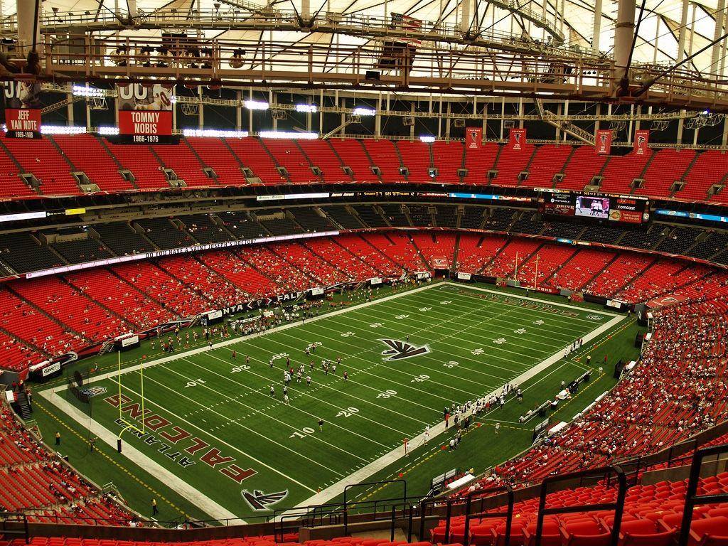Falcons City Of Atlanta Nearing Deal For New Stadium With Images Georgia Dome Atlanta Falcons Atlanta