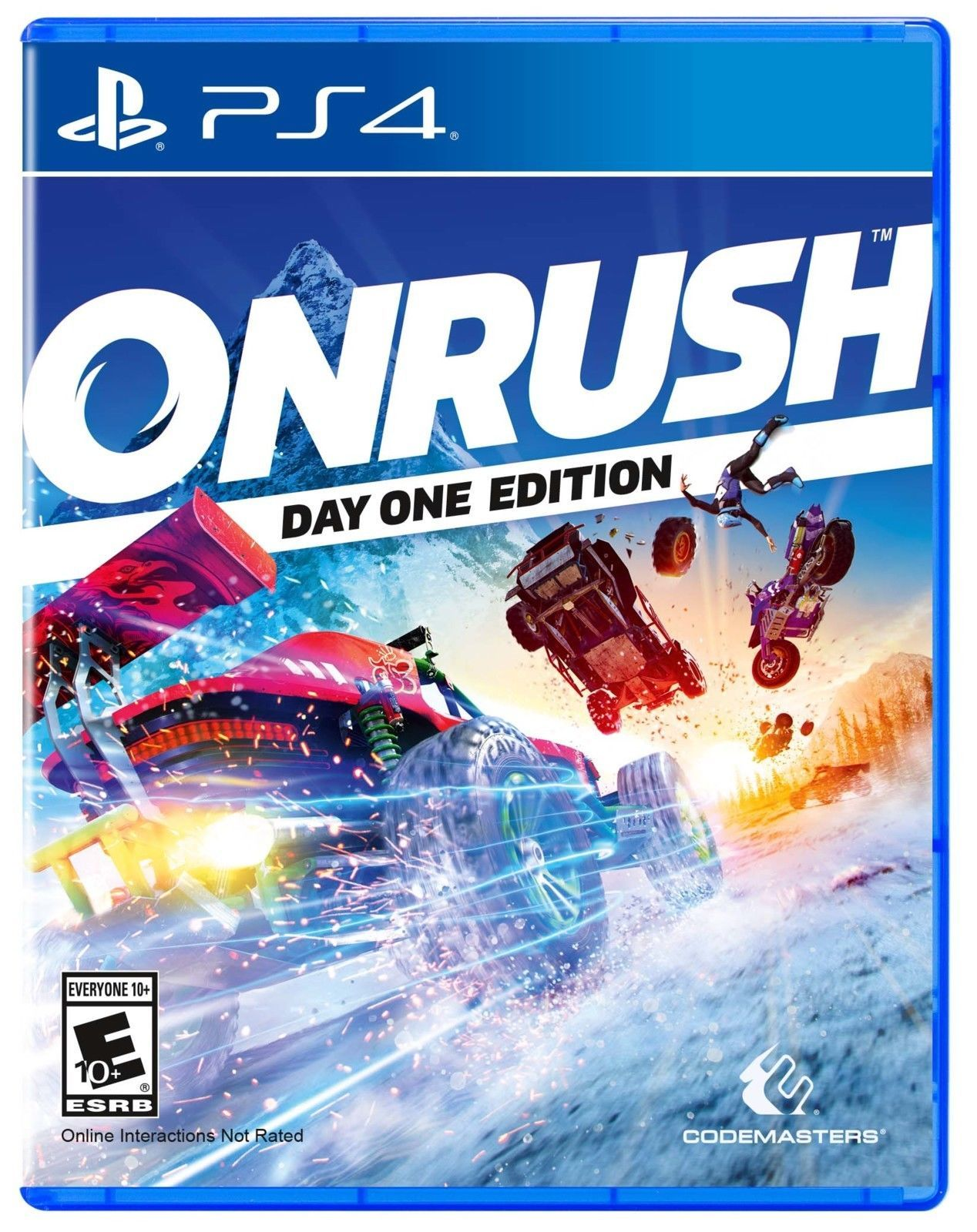 Onrush Day One Edition Playstation 4 2018 Egaming Forums Pinterest