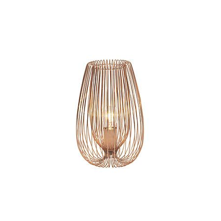 Jonas brown copper wire table lamp copper wire living spaces and jonas brown copper wire table lamp greentooth Choice Image