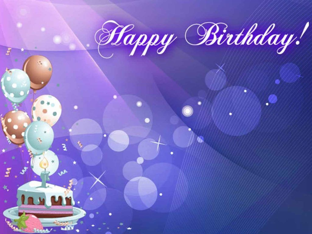 Cool Background Happy Birthday Hd 3d Wallpaper