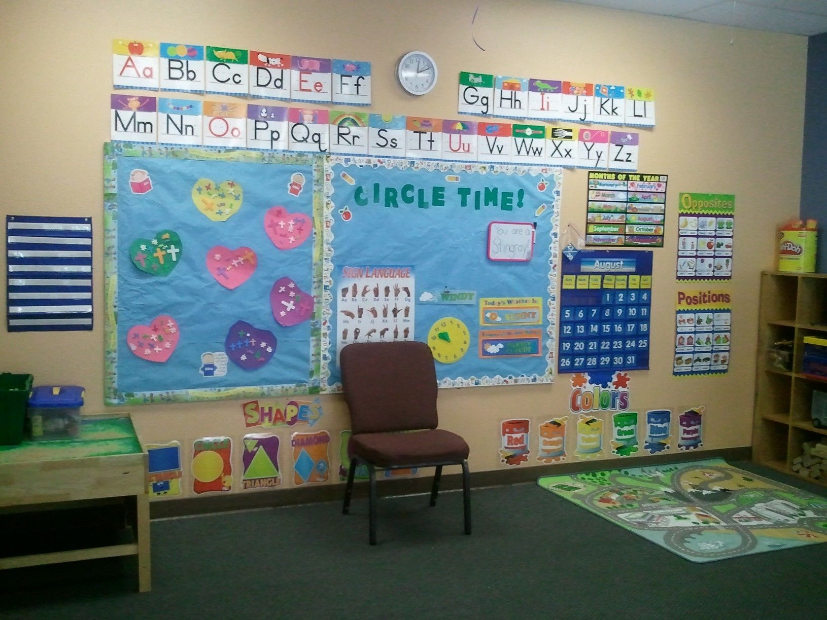 Our Circle Time Board Erica Wuestewald