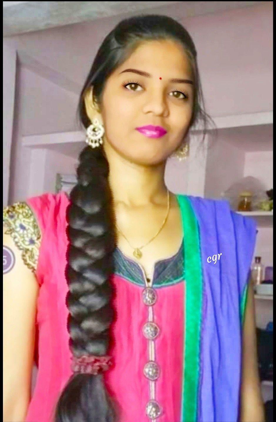 Natural Beauty Bun Hairstyles For Long Hair Long Indian Hair Braids For Long Hair