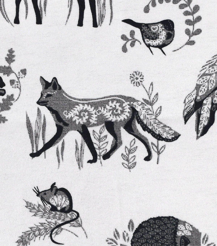 Snuggle Flannel Fabric Boho Woodland