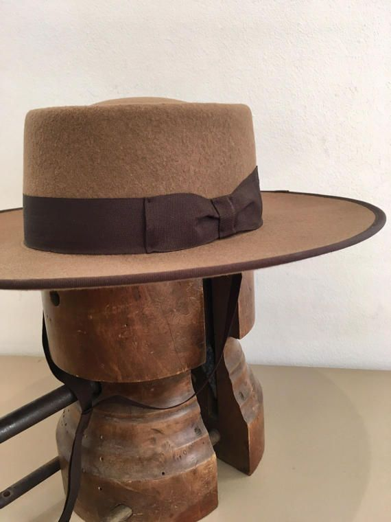 Portuguese style riding hat by DaquinoHats on Etsy e5c42707b0e