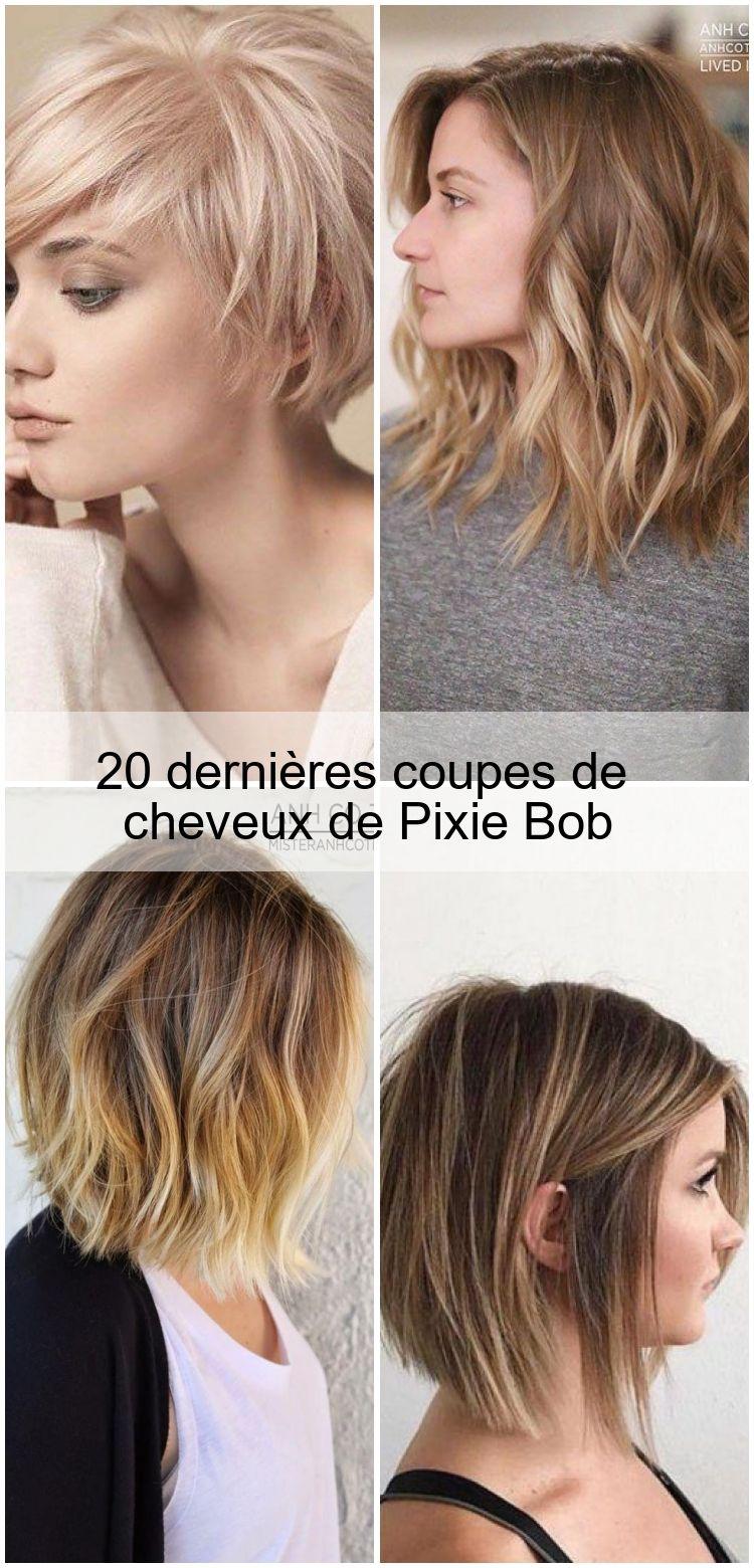 20 Dernieres Coupes De Cheveux De Pixie Bob Coupe De Cheveux Lob Coupe De Cheveux Pixie Bob