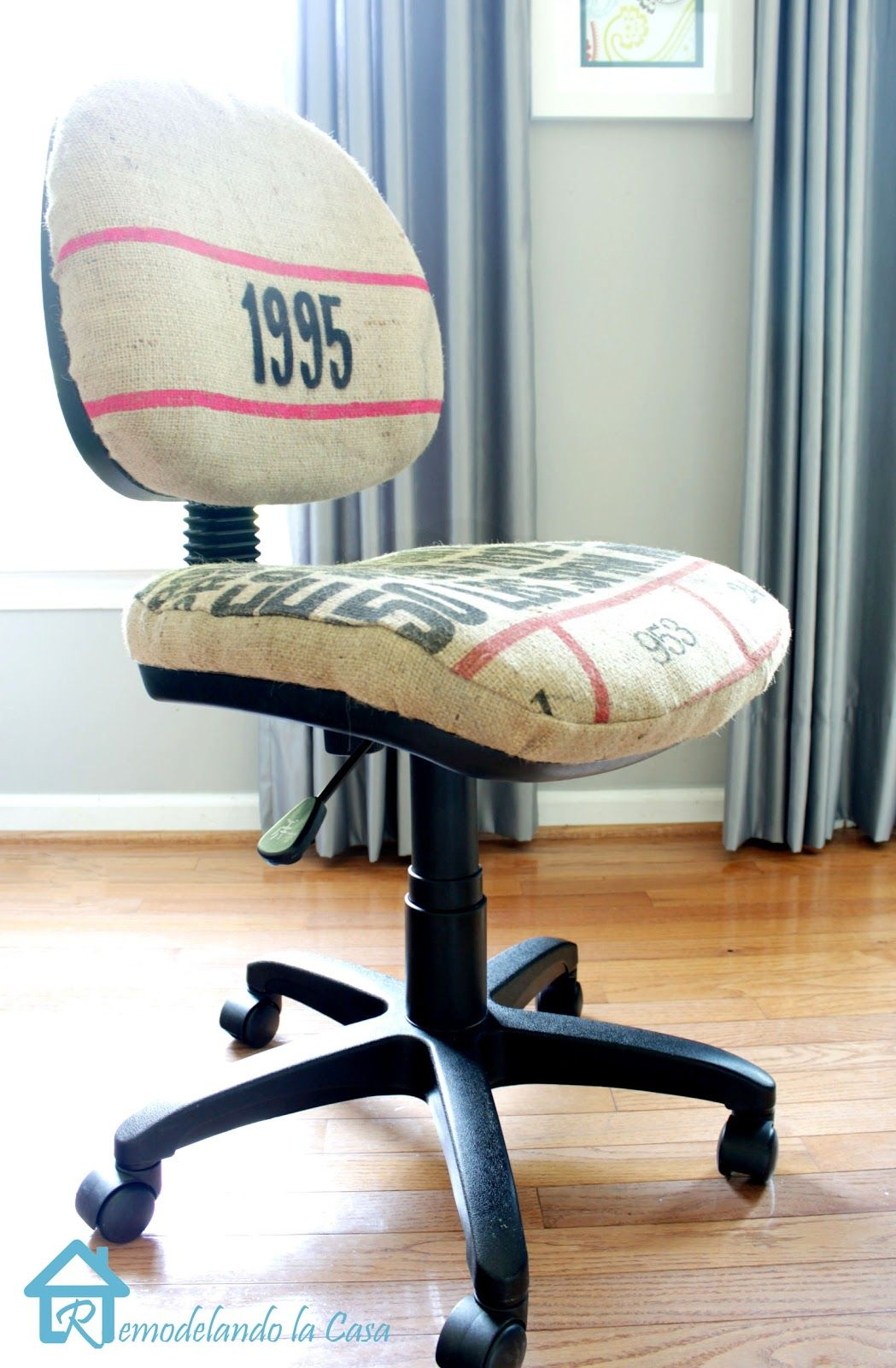 Admirable Office Chair Makeover Your Funky Junk A Repurposing Download Free Architecture Designs Scobabritishbridgeorg