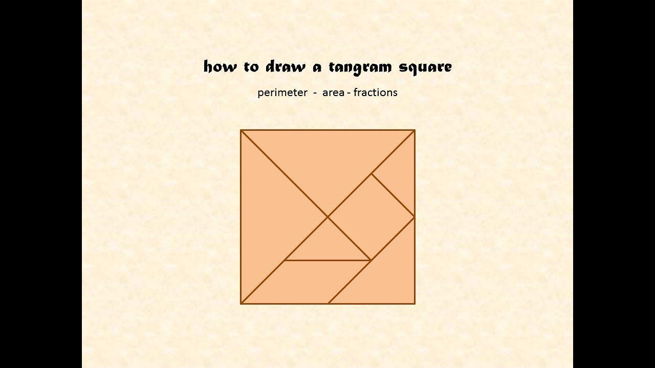 medium resolution of How to draw a Tangram - area