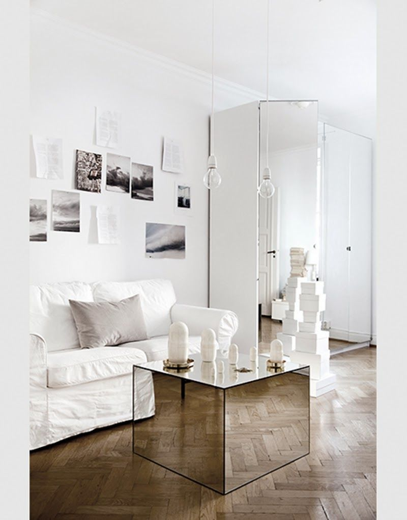 Mirror Tiles For Table Decorations Captivating Facing North With Gracia Maison Martin Margiela Cover A Wooden Design Decoration
