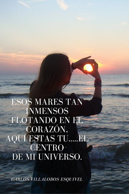 Entre Los Versos De Carlos: Aquí...Tu
