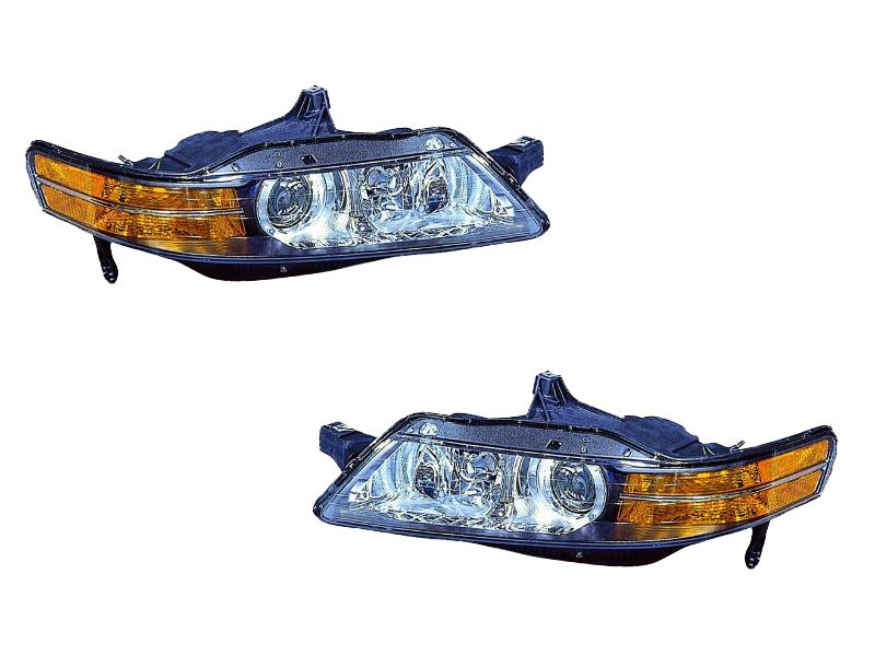 Acura TL HID Headlights Set Acura TL HID - 2005 acura tl accessories