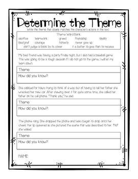 Teaching Themes