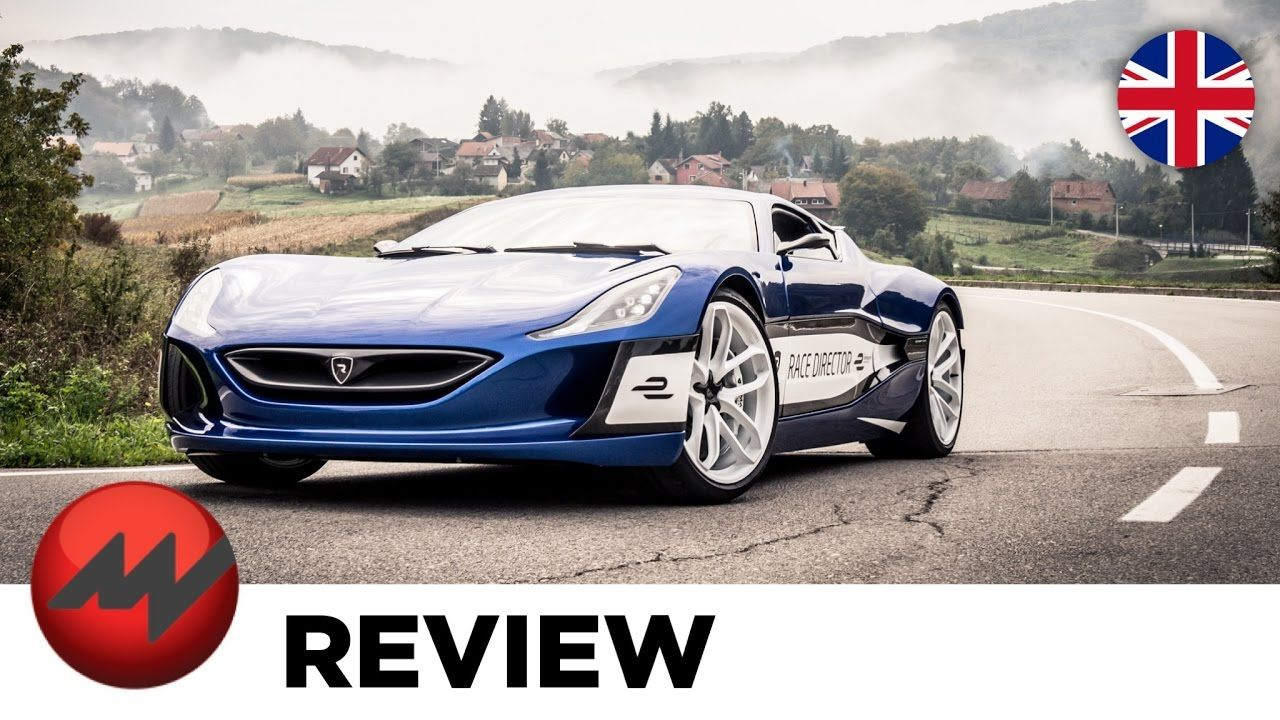 Rimac Concept One Fastest And Most Expensive Electric Car Car Super Cars Electric Car