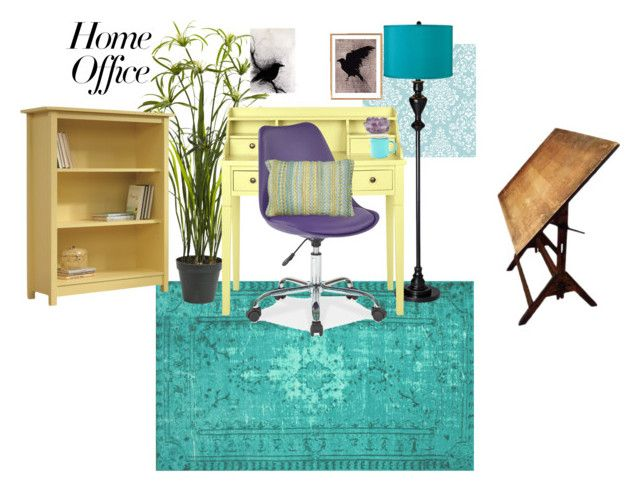 Office By Sallyaustin On Polyvore Featuring Interior Interiors