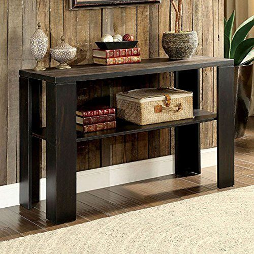 Leda Transitional Style Sofa Table Living Room Furniture Pinterest Tables And