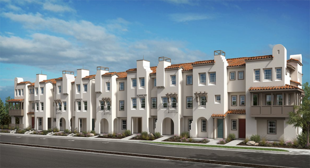 Laterra Townhomes Floor Plans San Diego New Homes Townhouse New