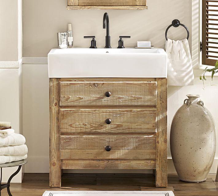Mason Single Sink Vanity Wax Pine 31 5 8203 Single Sink