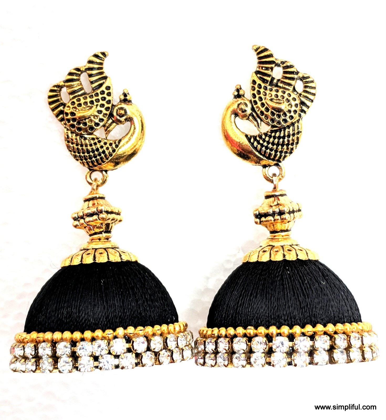 fringe in drop stud and pearl tone crystal gold dsc massive antique products bag curtain organza earrings