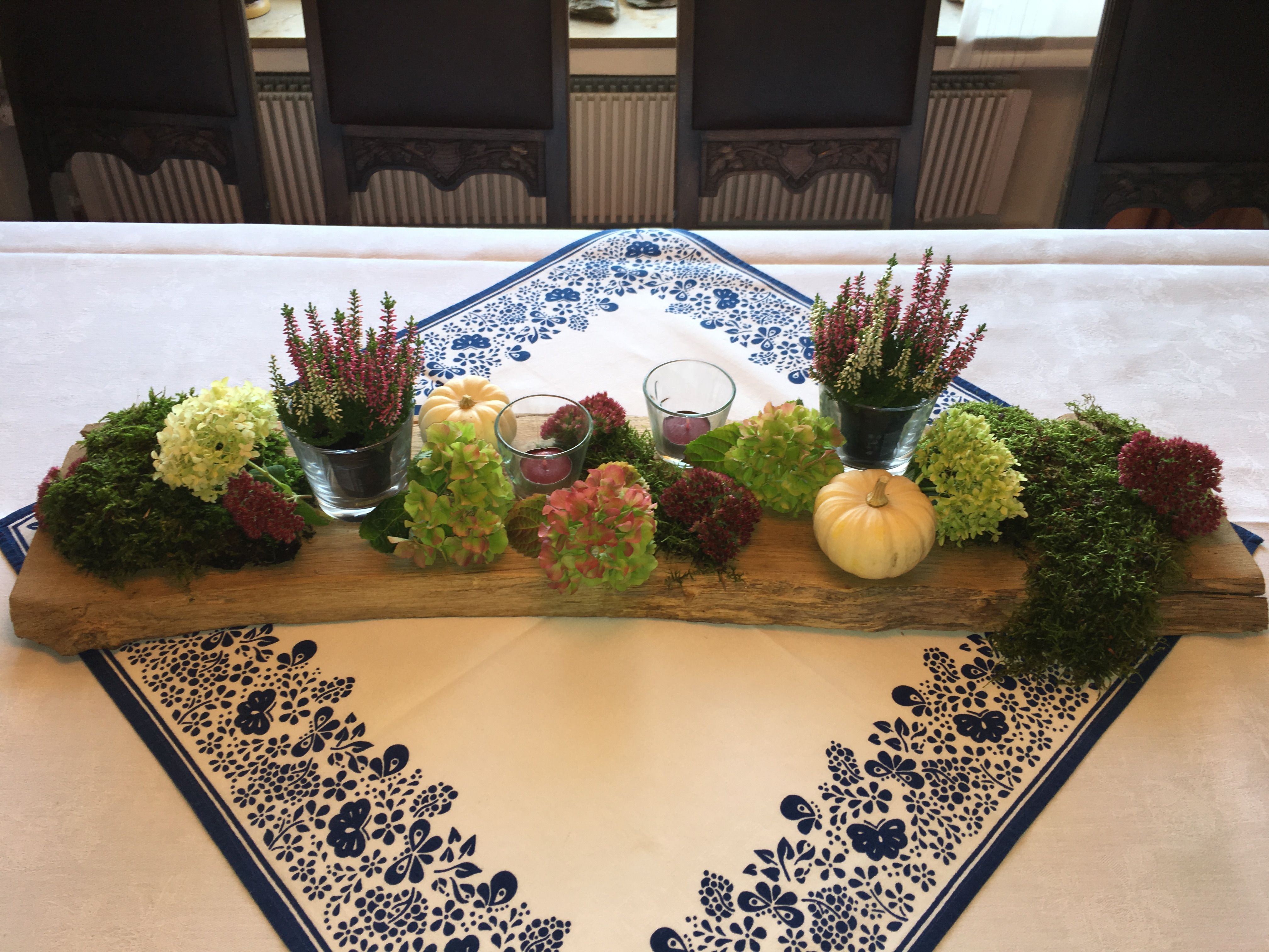 tischdeko zum 80 geburtstag g steempfang herbstdeko pinterest table decorations. Black Bedroom Furniture Sets. Home Design Ideas