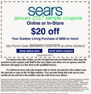sears coupons free printable coupons free printables december january 2016 big