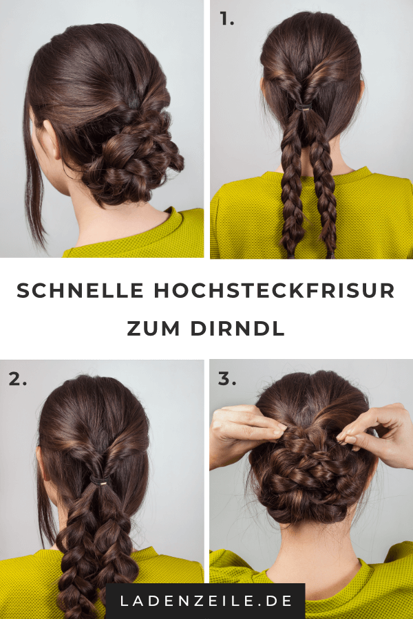Hairstyles For A Dirndl Style Simply A Jaunty Braided Hairstyle Your Dirndl Hairstyle Hair Styles Braided Hairstyles Cool Braid Hairstyles