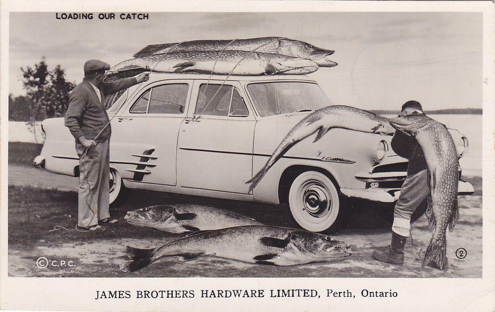 Rp Perth Ontario Canada 1940s James Bros Hardware Ltd