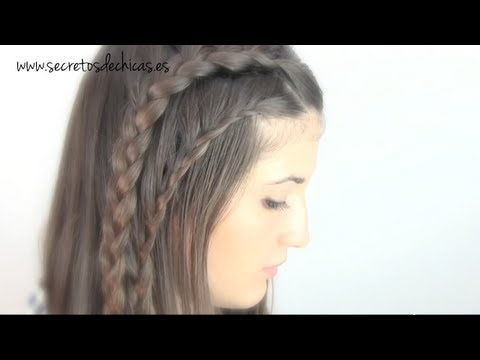 Peinado con trenzas!   www.secretosdechicas.es