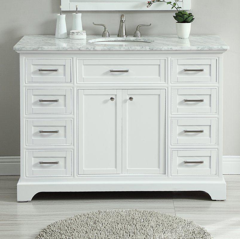 Darry 48 Single Bathroom Vanity Mudroom In 2019 Bathroom Vanities For Sale Bathroom Vanity Base Vanity