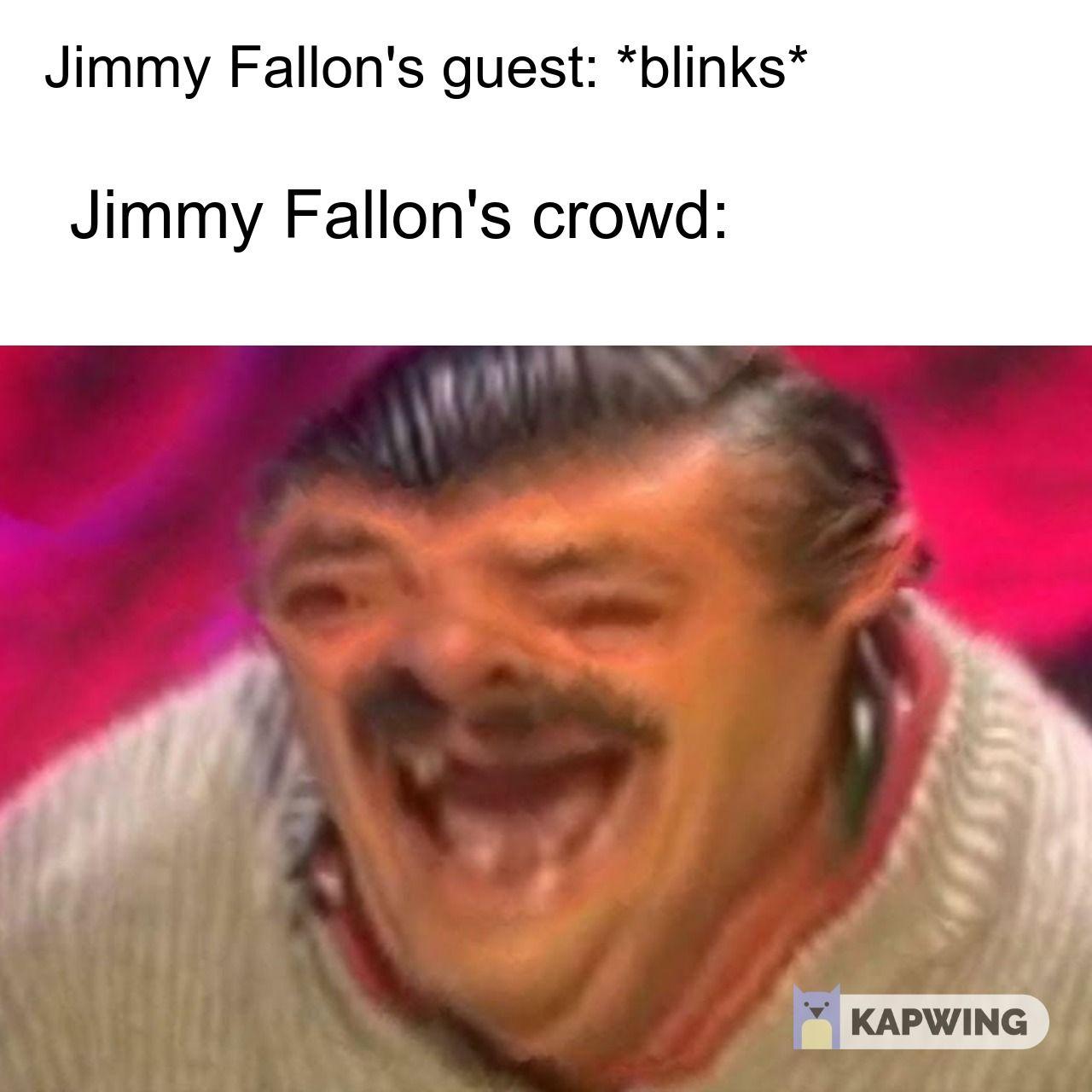 Jimmy Fallon Slaps Table Like A Maniac With Forced Laugh Dankest Memes Memes Funny Memes