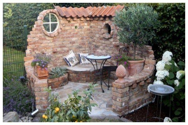 Erstaunliche Ideen mit Steinpavillon ohne Dach - Tolle Dekoideen #gartenlandschaftsbau