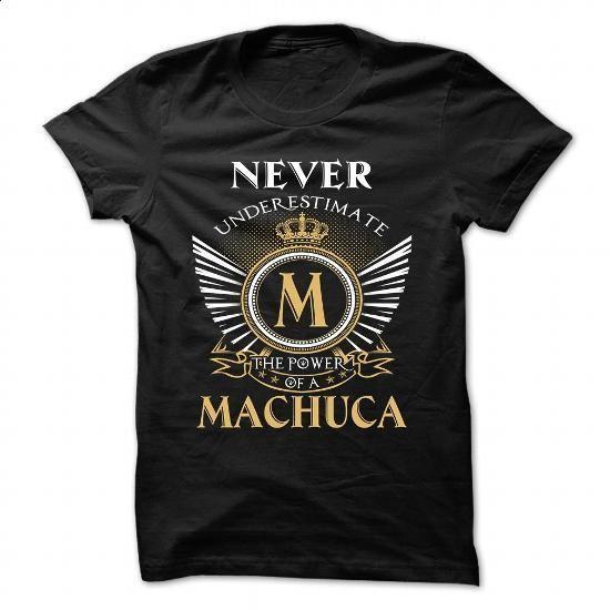 15 Never MACHUCA - #tshirt print #sweatshirt fashion. SIMILAR ITEMS => https://www.sunfrog.com/Camping/15-Never-MACHUCA.html?68278
