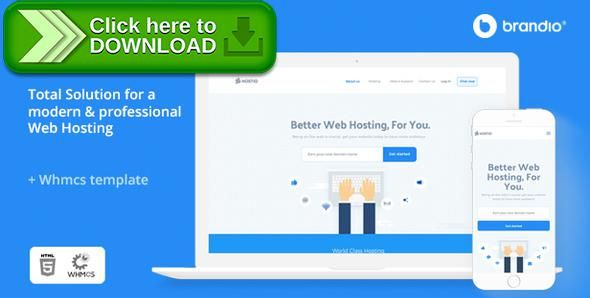 ThemeForest]Free nulled download Hostio HTML & WHMCS Web Hosting ...