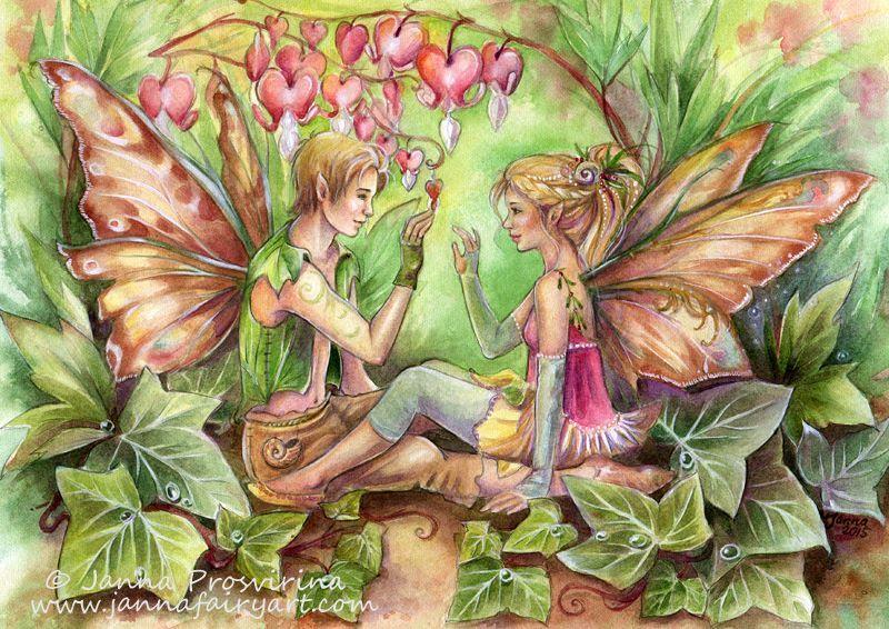 Janna Prosvirina Fairy Myth Mythical Mystical Legend Elf Faerie Fae Wings…
