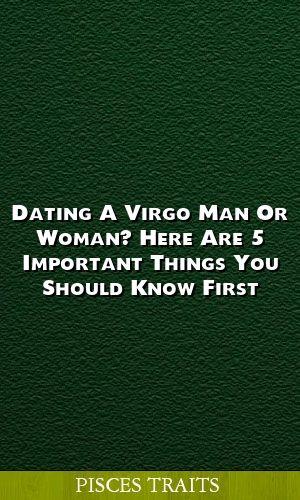Gemini Mann und virgo Frau Dating