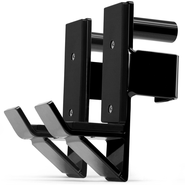 Yes4All Pair of J Hooks for Power Rack Squat Rack – J
