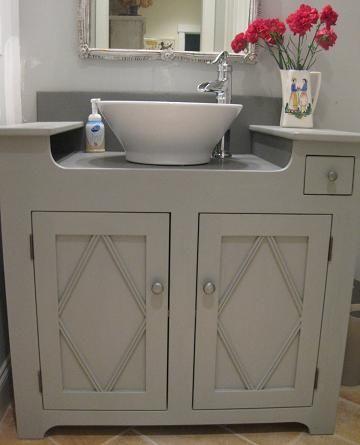 Make Grandma S Dry Sink Into A Wet Sink Primitive Bathrooms Unique Bathroom Vanity Dry Sink