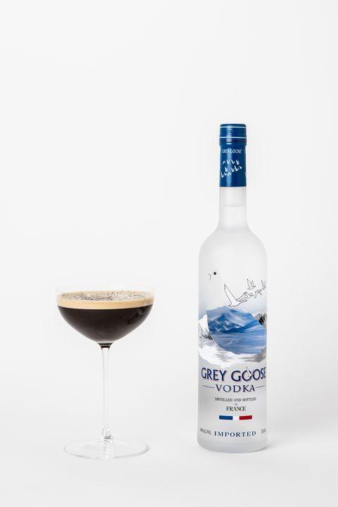 Ingredients 1 5 Oz Grey Goose 1 2 Oz J Rieger Caffe Amaro 1 2 Oz White Creme De Cacao 1 4 Oz Simple Syrup 1 5 Oz Cold Es Winter Cocktails Cocktails Vodka