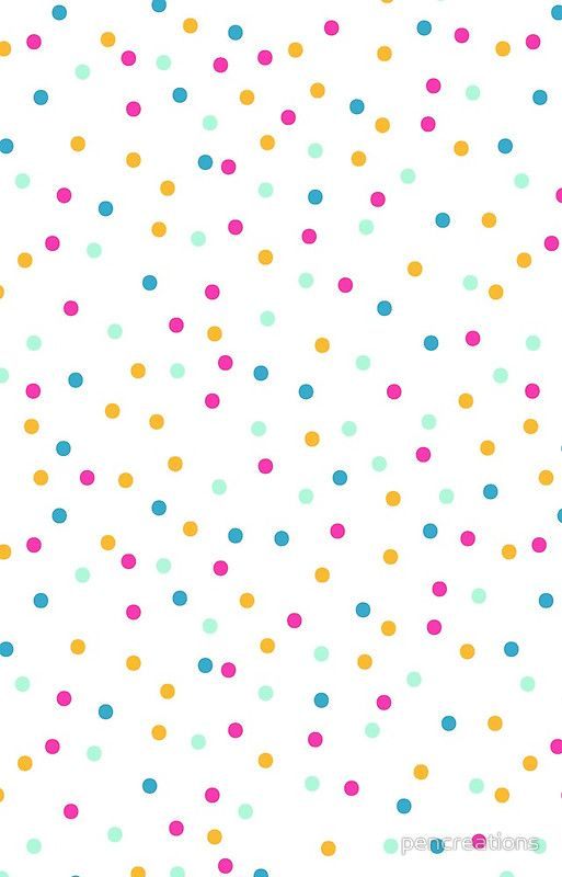 Confetti Dots Iphone Case Cover By Pencreations In 2021 Confetti Iphone Wallpaper Abstract Iphone Wallpaper Dots Wallpaper