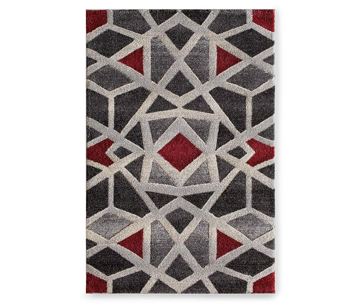 Living Colors Mesa Bello Pearl Area Rug 6 7 X 9 6 Big Lots Rugs Area Rugs Indoor Area Rugs