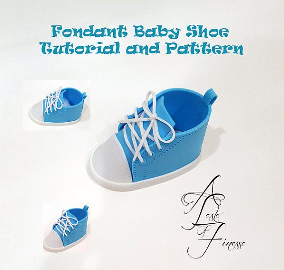 Pdf Fondant Baby Shoe Pattern And Tutorial By Atasteoffinesse