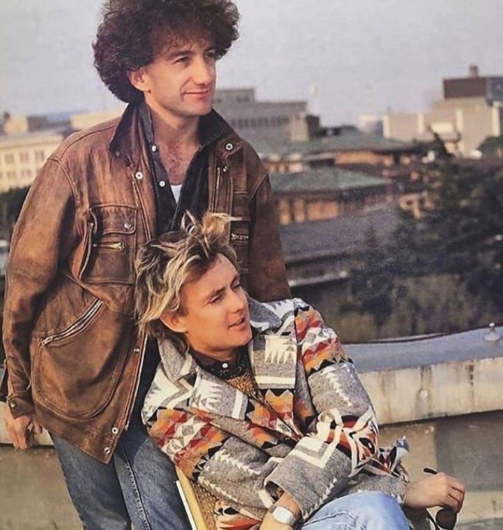 John Deacon as stylish as Roger 😎💁🏼♀️ - - - - - #freddiemercury #farrokhbulsara #rogertaylor #brianmay #queenband #queen #bohemianrhapsody…