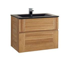 Meuble sous vasque frªne 60 cm Essential II Plan vasque Essential